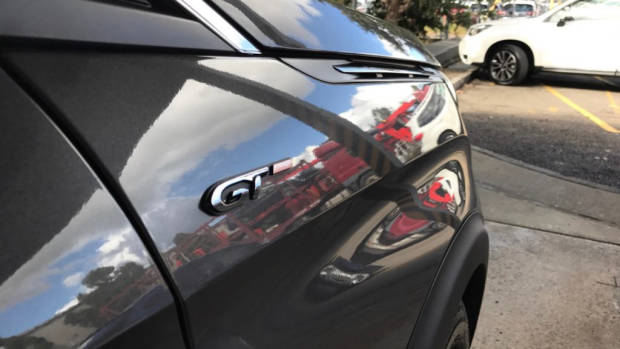 2017 Peugeot 3008 GT side badge