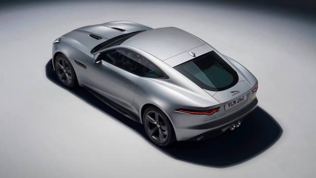 2018 Jaguar F-Type silver top