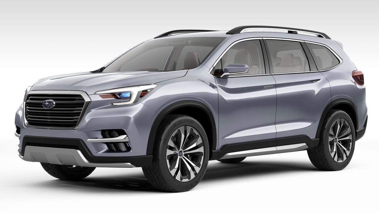 Subaru Ascent concept front