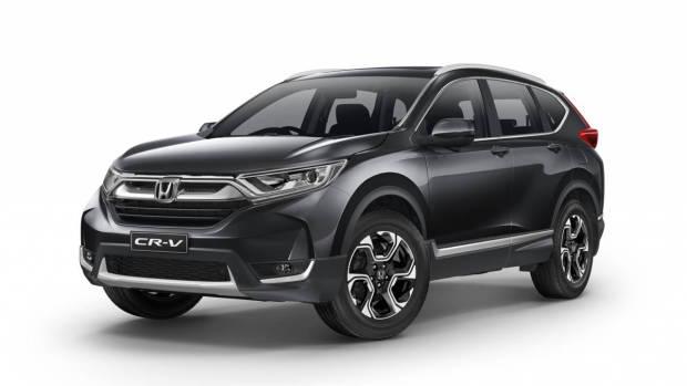 2017 Honda CR-V VTi-L grey front