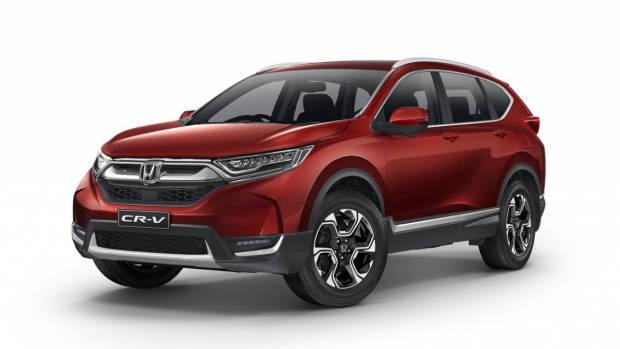 2017 Honda CR-V VTi-LX red front
