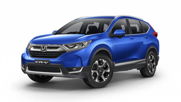 2017 Honda CR-V VTi-S blue front