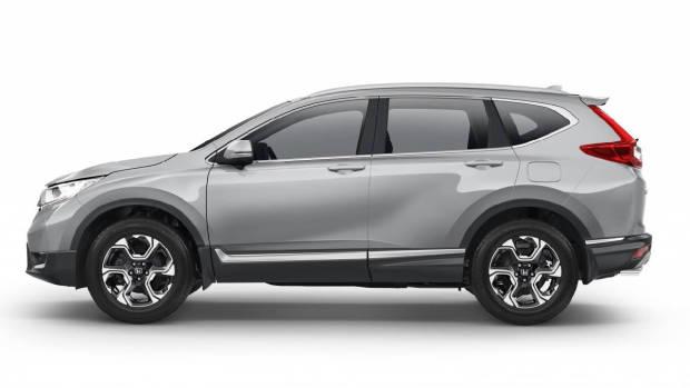 2017 Honda CR-V VTi-S silver side