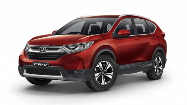 2017 Honda CR-V VTi red front