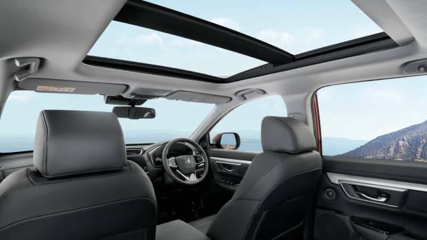 2017 Honda CR-V panoramic roof