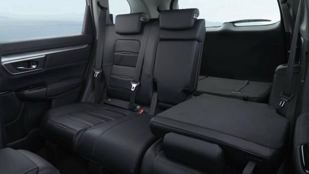 2017 Honda CR-V rear seat