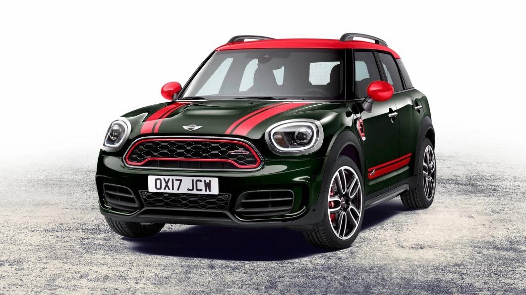2017 John Cooper Works Countryman green front