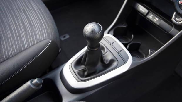 2017 Kia Picanto gearknob