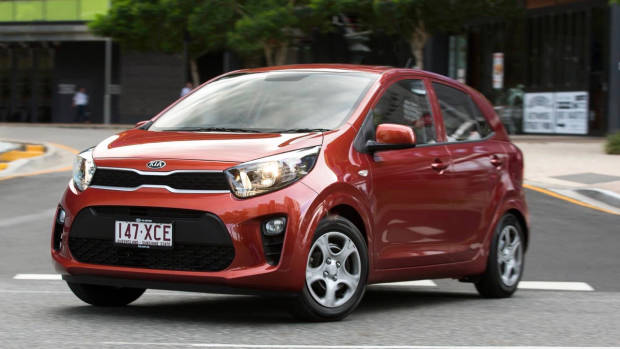 2017 Kia Picanto red front side