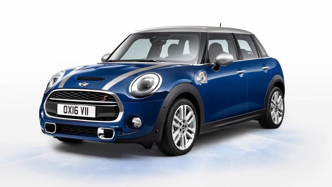2017 MINI Seven edition blue front