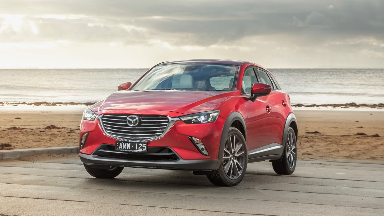2017 Mazda CX-3 Akari Soul Red Front End
