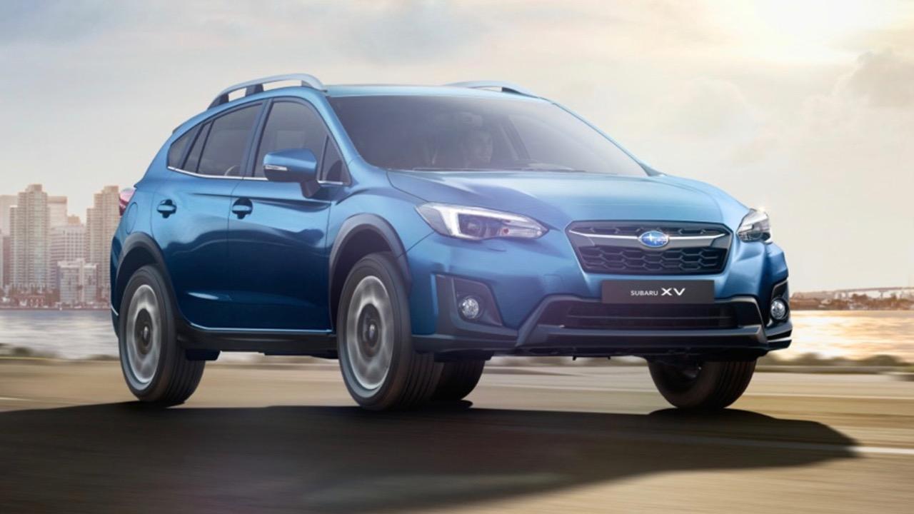 2017 Subaru XV blue front
