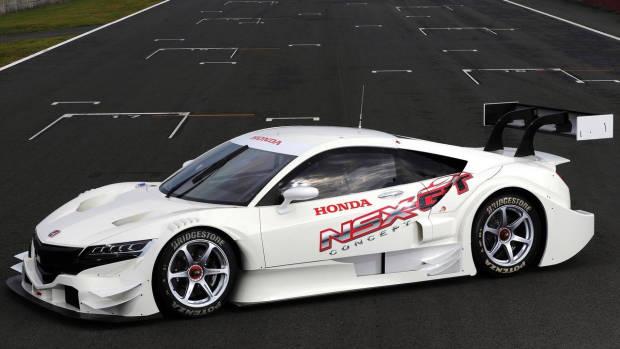 2016 Honda NSX-GT concept front