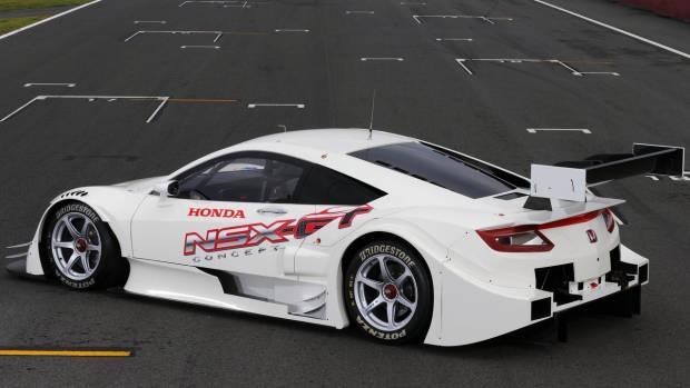 2016 Honda NSX-GT concept rear