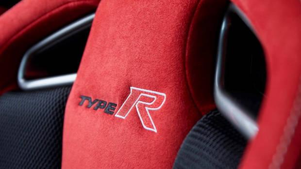 2017 Honda Civic Type R red seat
