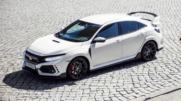 2017 Honda Civic Type R white front far