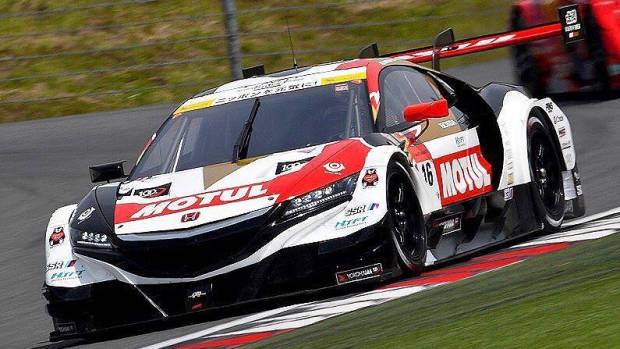 2017 Honda NSX-GT Jenson Button front