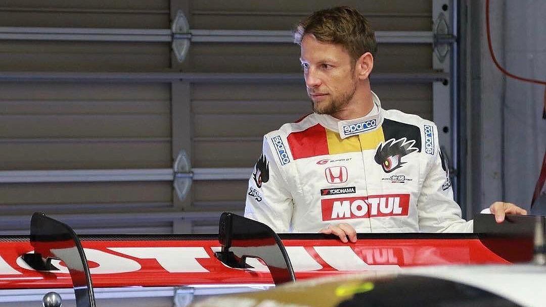2017 Honda NSX-GT Jenson Button