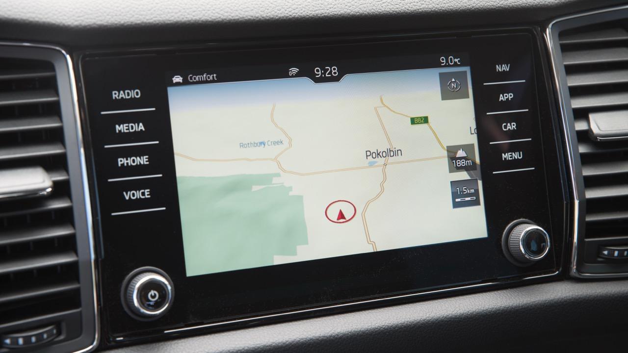 2017 Skoda Kodiaq Australia Columbus touchscreen –Chasing Cars