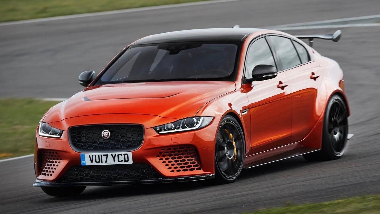 2018 Jaguar XE SV Project 8 front