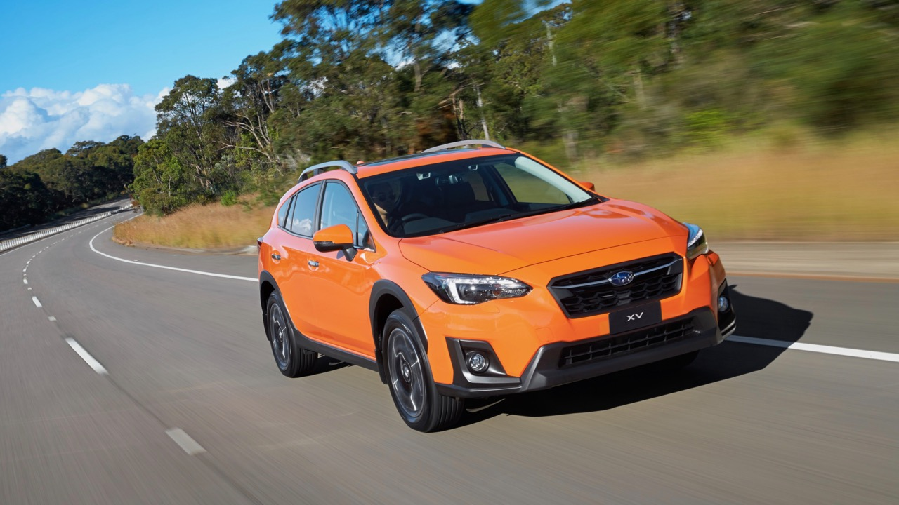 2018 Subaru XV 2.0i-S orange driving – Chasing Cars