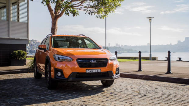 2018 Subaru XV 2.0i-S Orange Front End – Chasing Cars