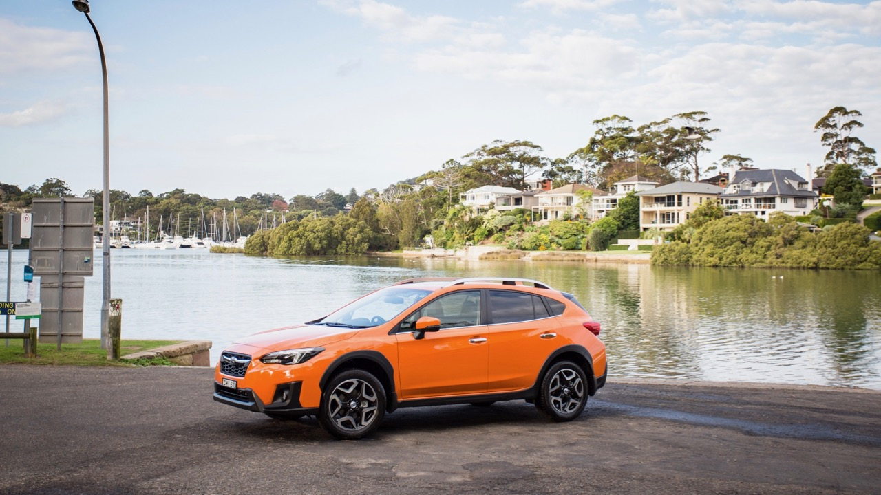2018 Subaru XV 2.0i-S Orange Side Profile – Chasing Cars