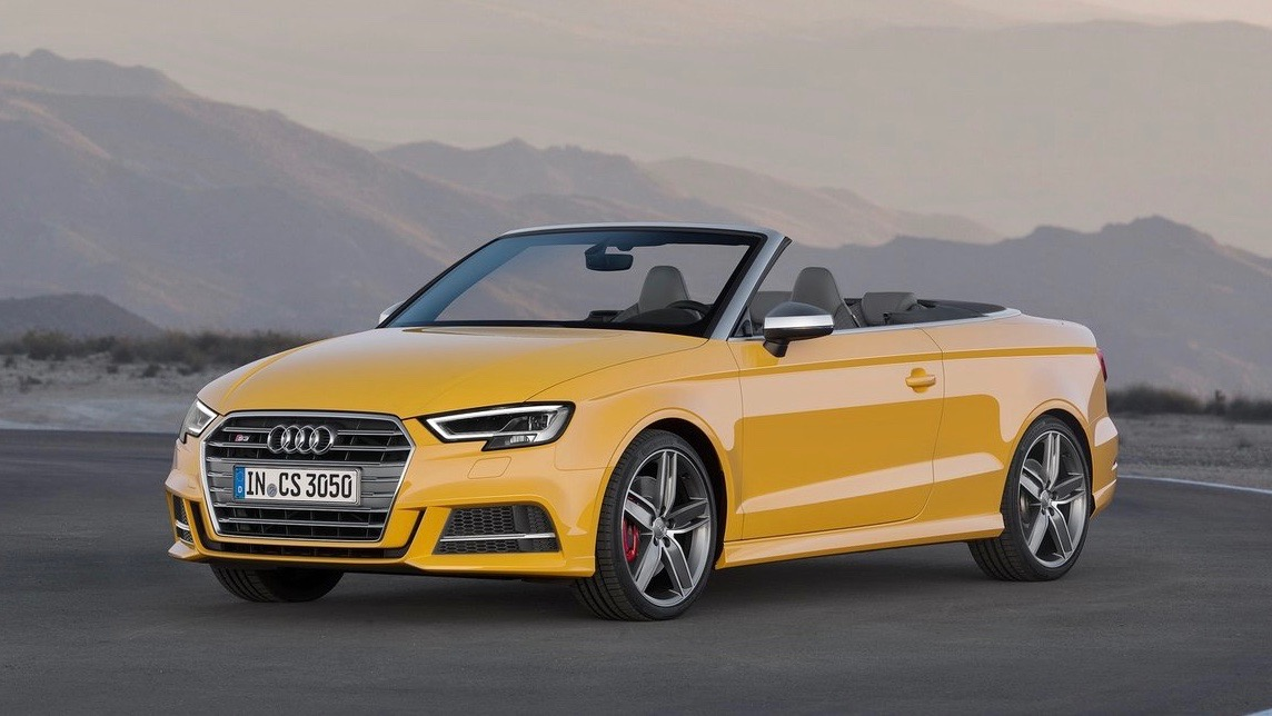 2017 Audi S3 Cabriolet Yellow