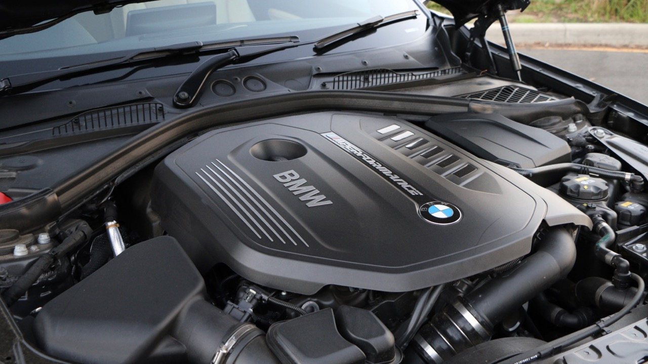 2017 BMW M240i Convertible Engine