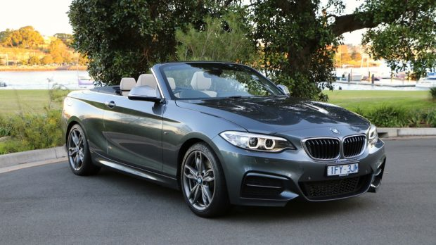 2017 BMW M240i Convertible Mineral Grey Front End –Chasing Cars