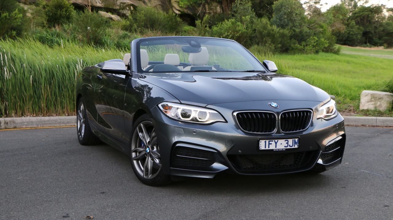 2017 BMW M240i Convertible Mineral Grey Front End