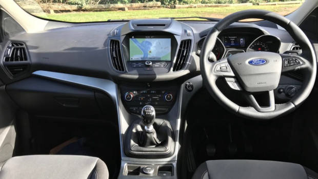 2017 Ford Escape Ambiente Dashboard – Chasing Cars