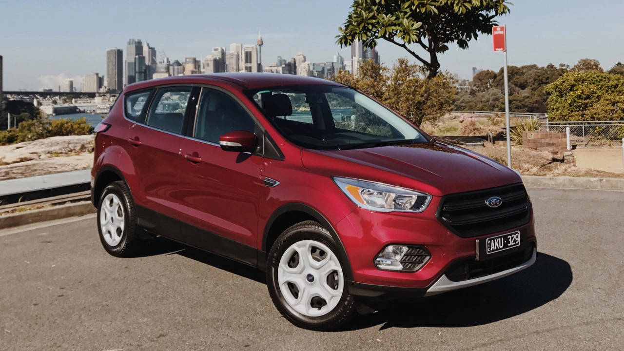 2017 Ford Escape Ambiente Ruby Red Front End – Chasing Cars