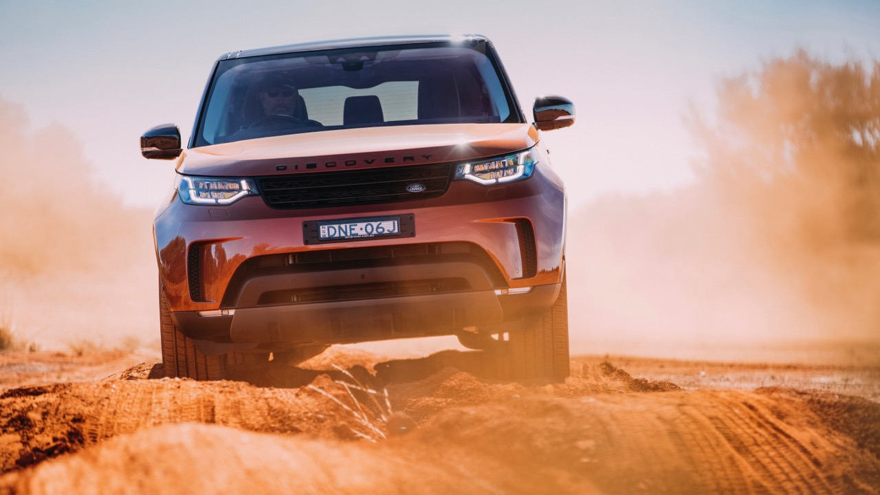 2017 Land Rover Discovery First Edition Namib Orange Front End –Chasing Cars
