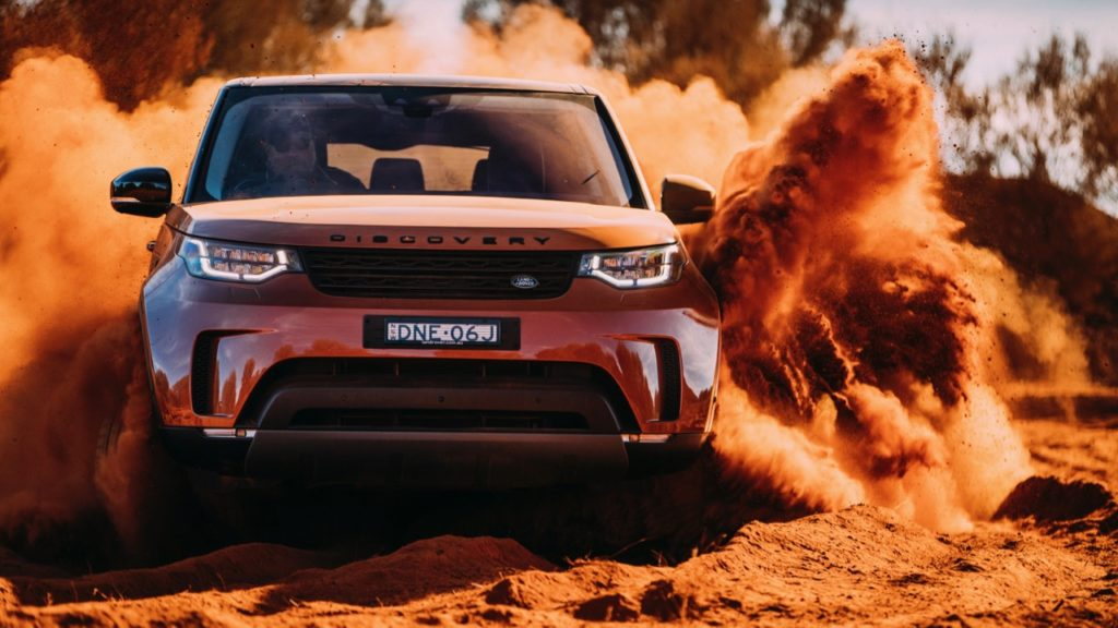 2017 Land Rover Discovery First Edition Namib Orange Off Road –Chasing Cars