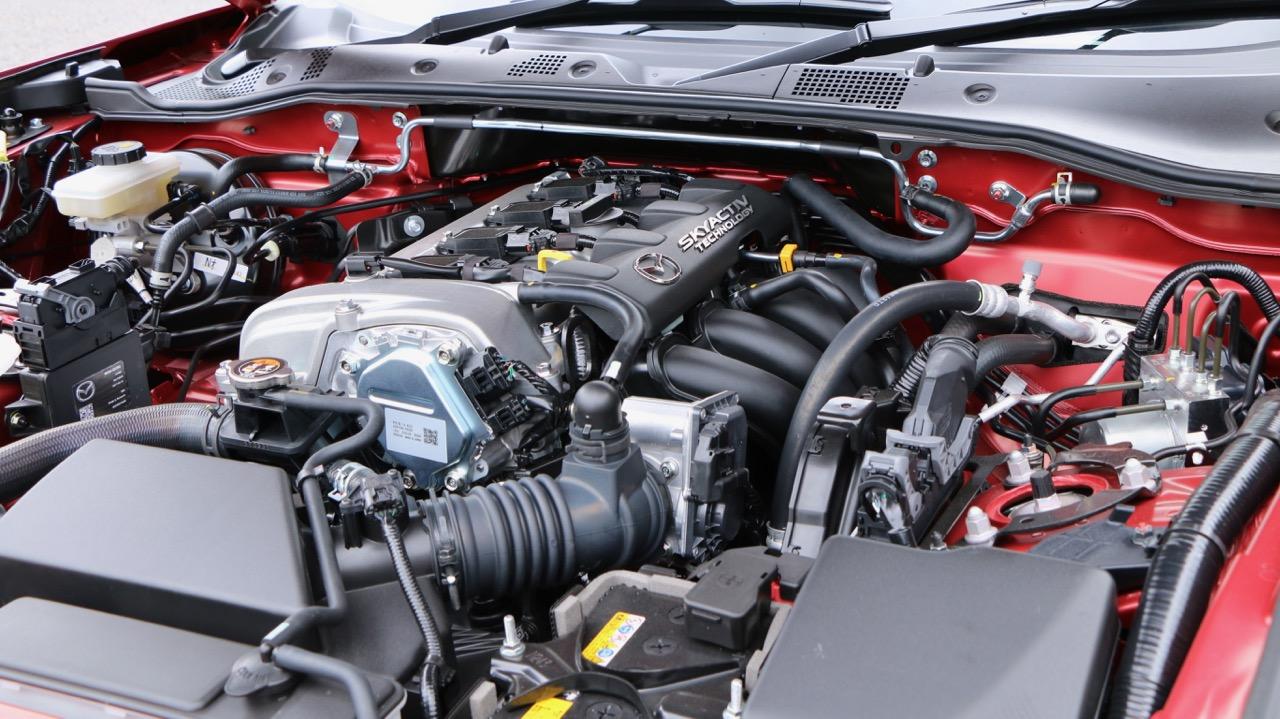 2017 Mazda MX-5 1.5 Roadster Soul Red Engine