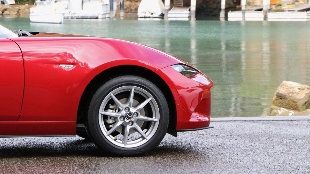 2017 Mazda MX-5 1.5 Roadster Soul Red Yokohama Advan Tyre