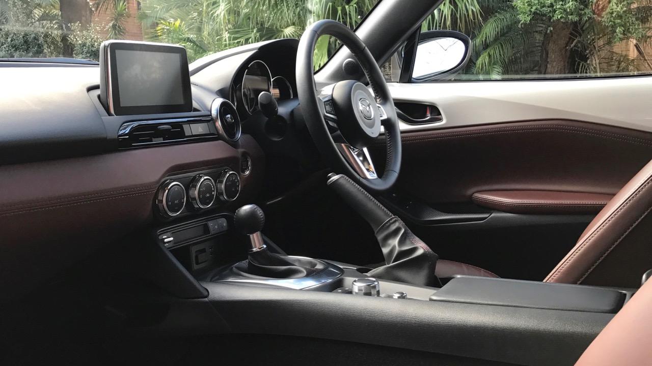 2017 Mazda MX-5 RF 2.0 GT Auburn Leather Interior