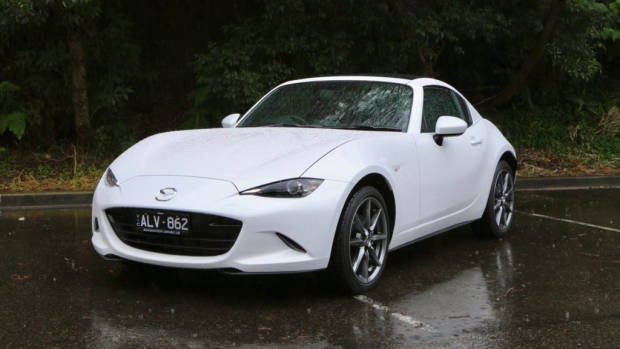 2017 Mazda MX-5 RF 2.0 GT Crystal White Pearl Front End