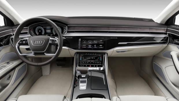 2018 Audi A8 light interior