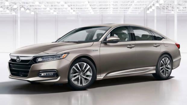 2018 Honda Accord Hybrid beige front