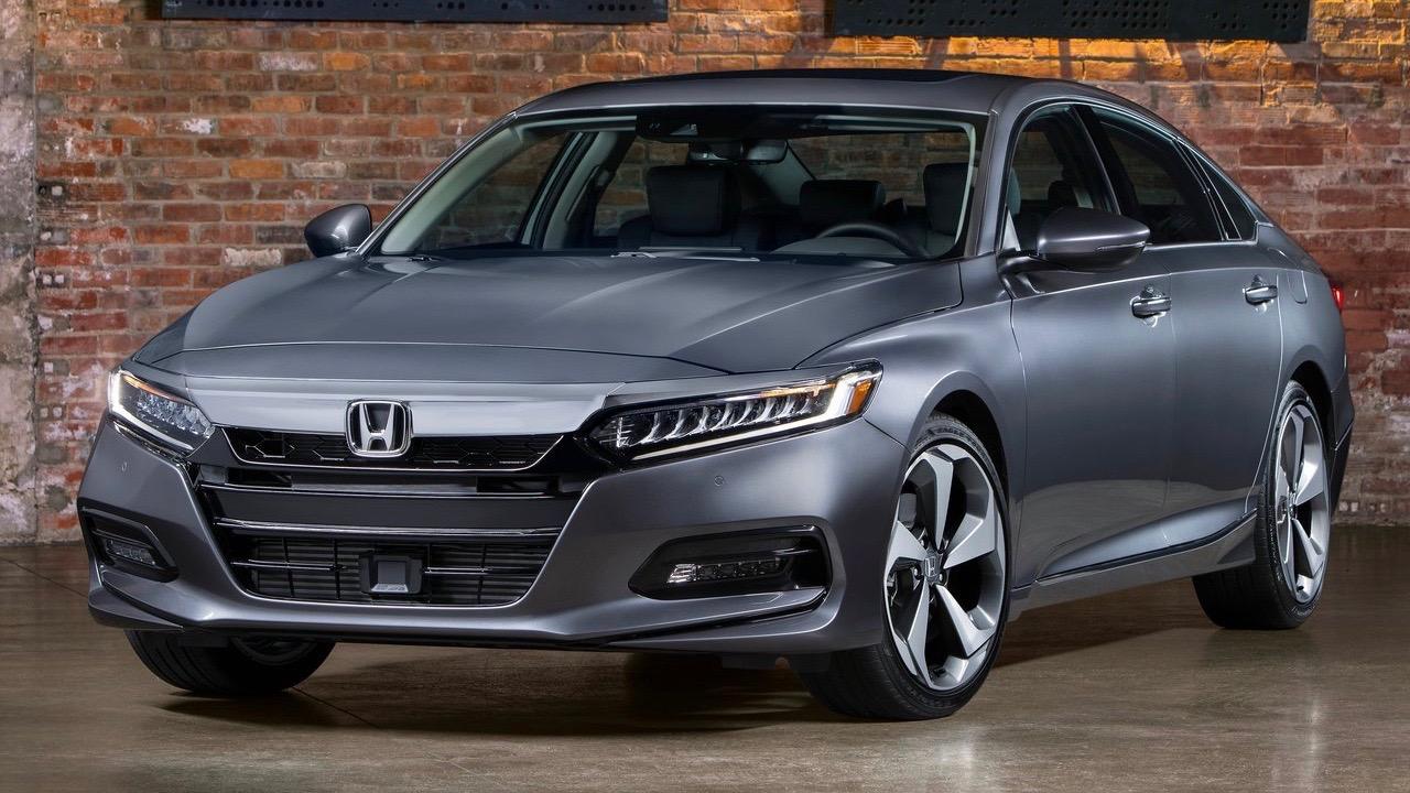 2018 Honda Accord grey front