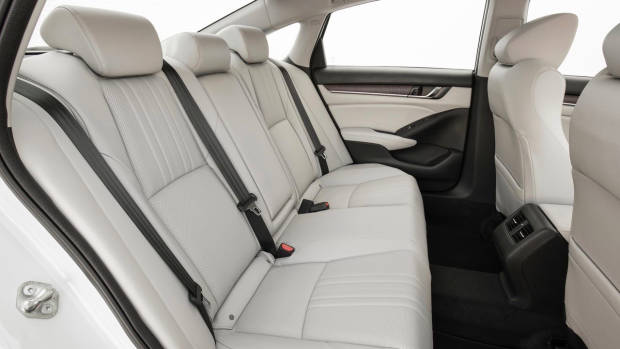 2018 Honda Accord rear seat