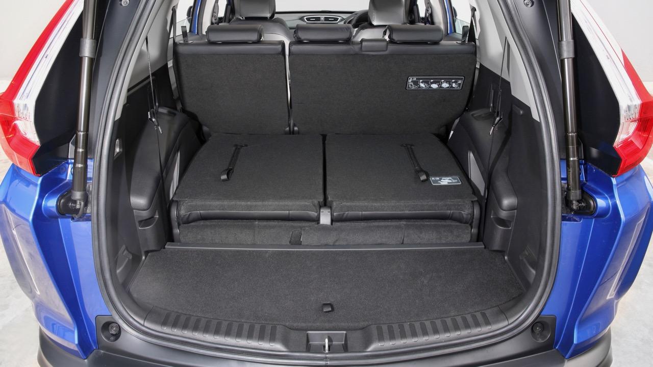 2018 Honda C-RV seven seat boot space