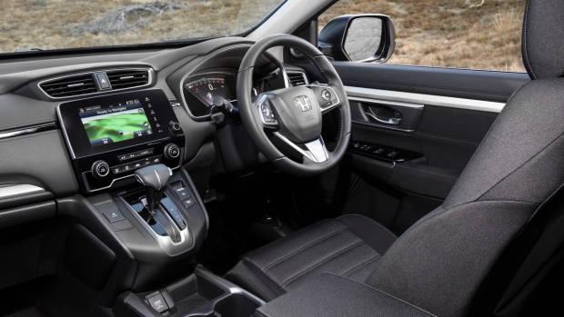 2018 Honda CR-V cloth interior dashboard