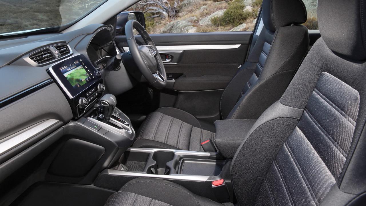 2018 Honda CR-V cloth interior front cabin