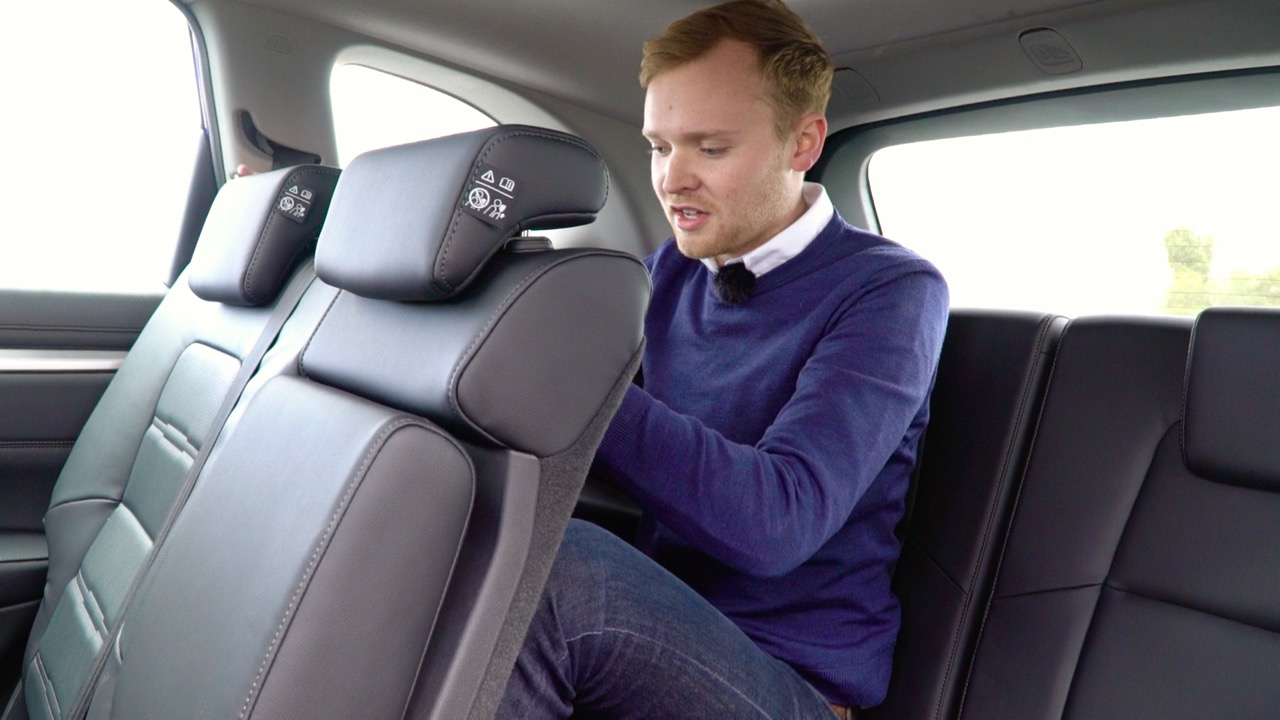 2018 Honda CR-V seven seat back seat space