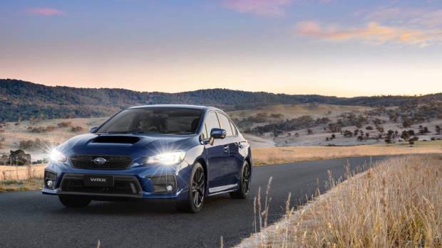 2018 Subaru WRX Lapis Blue front