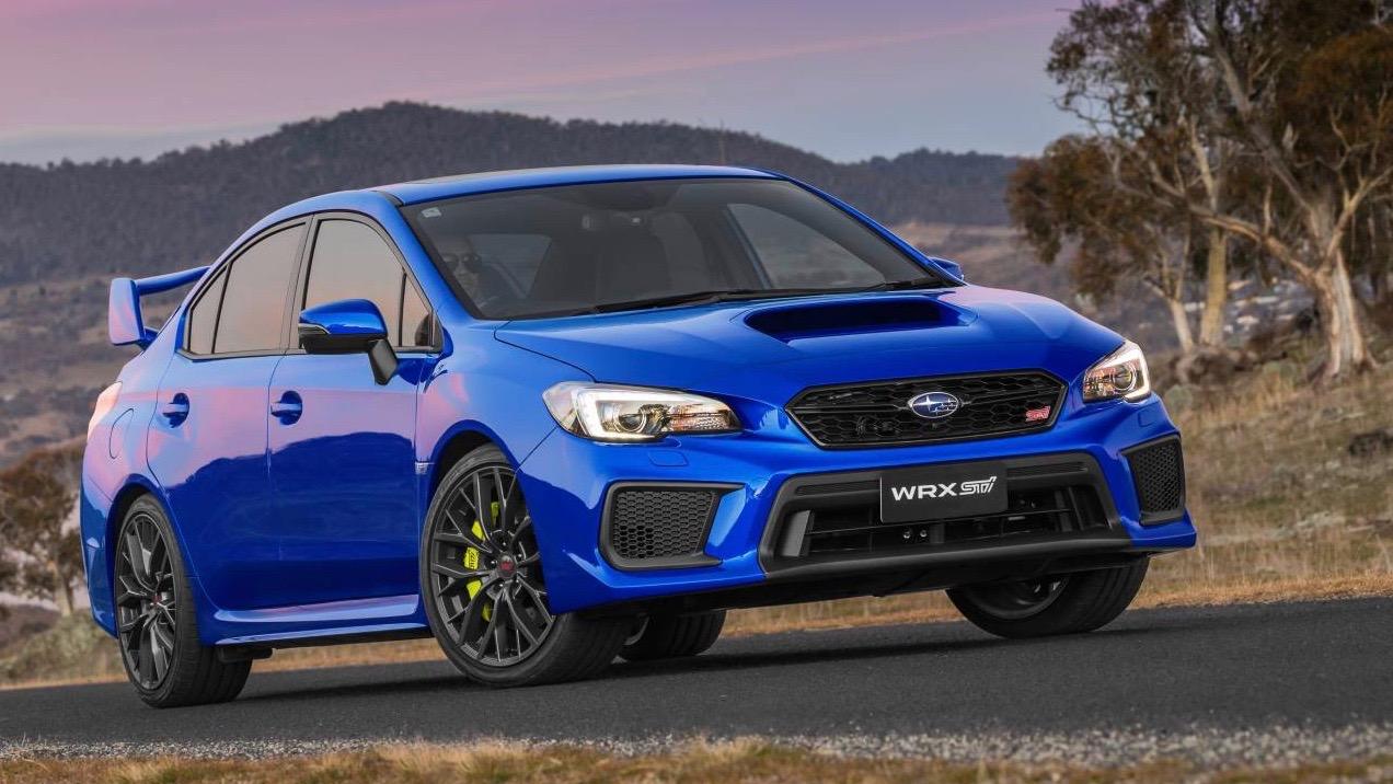 2018 Subaru WRX STI spec.R WR Blue front