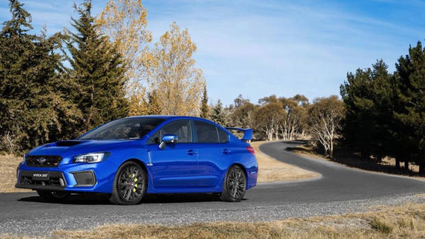 2018 Subaru WRX STI spec.R WR Blue side